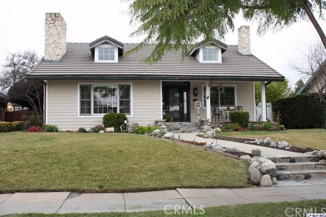 Single Family Home for Sale at 1987 Paloma Street Pasadena, California 91104 United States