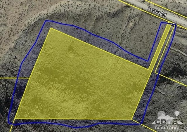 Fairfax Road Joshua Tree, CA 92252 - MLS #: 218003814DA