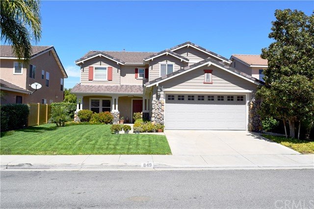 849 Bridgewood Street, Corona, CA 92881