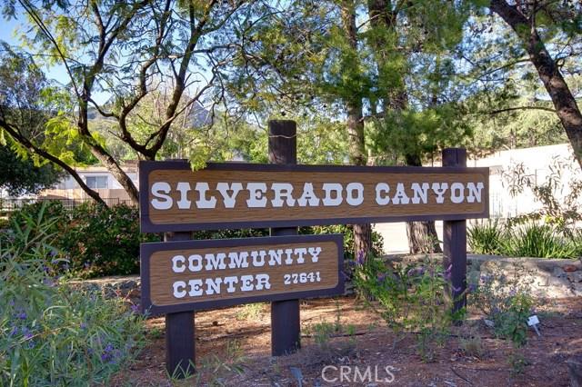 29176 Silverado Canyon Road Silverado Canyon, CA 92676 - MLS #: PW17145517