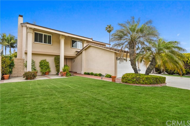 Detail Gallery Image 1 of 1 For 8921 Burlcrest Dr, Huntington Beach,  CA 92646 - 4 Beds | 2/1 Baths