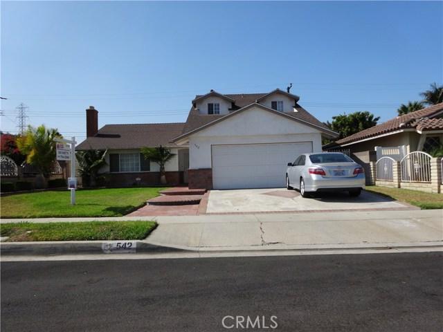 Single Family Home for Sale at 542 E Cheriton Drive Carson, California 90746 United States