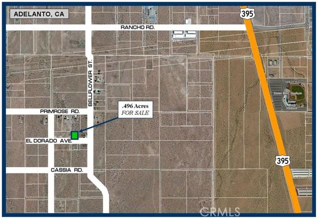 0 El Dorado Avenue Adelanto, CA 0 - MLS #: SW18178134