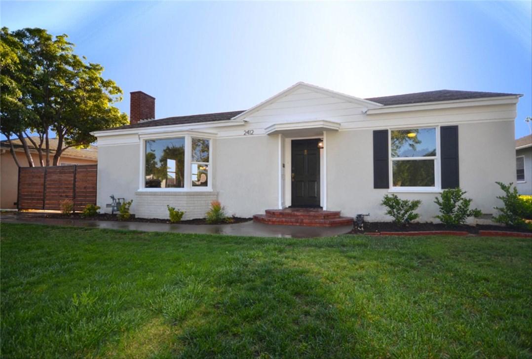 Single Family Home for Sale at 2412 Spurgeon Street N Santa Ana, California 92706 United States