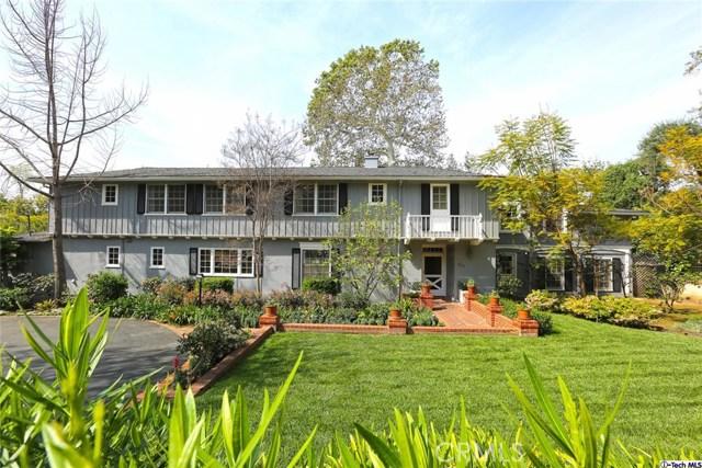 Single Family Home for Sale at 271 California Terrace Pasadena, California 91105 United States