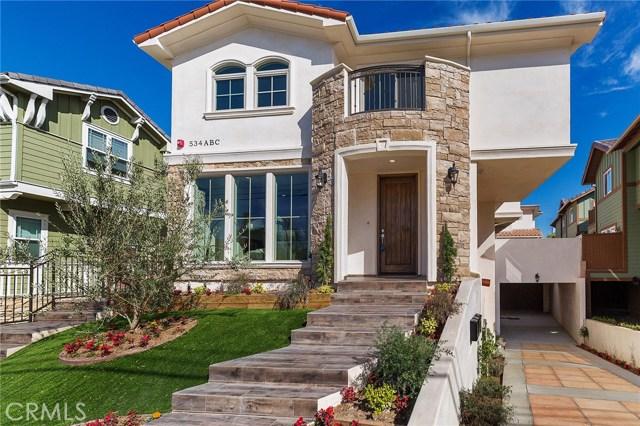 534 N Francisca Avenue A, Redondo Beach, CA 90277