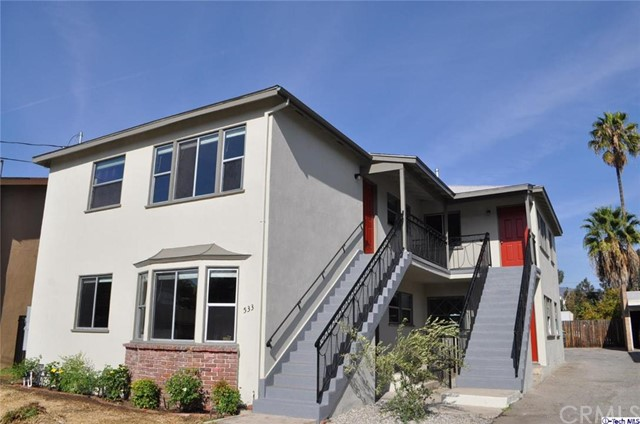 533 E Chevy Chase Drive Glendale, CA 91205 is listed for sale as MLS Listing 316003555