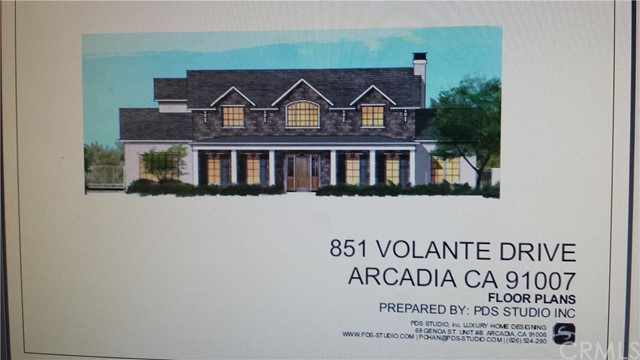 Land / Lots for Sale at 851 Volante St Arcadia, California 91007 United States