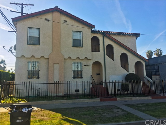 Single Family for Sale at 4411 3rd Avenue Los Angeles, California 90043 United States