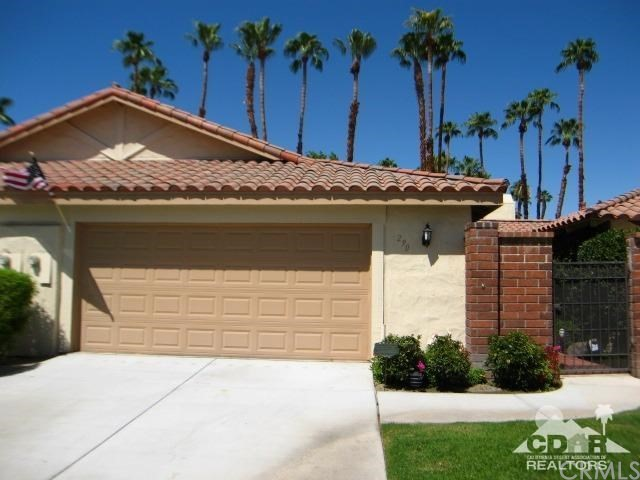 Photo of home for sale at 290 Cordoba Way, Palm Desert CA