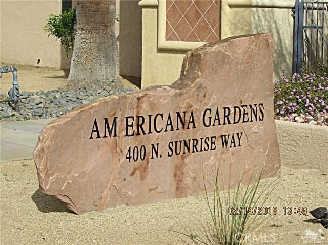 Condominium for Sale at 400 Sunrise Way Unit 124 400 Sunrise Way Palm Springs, California 92262 United States