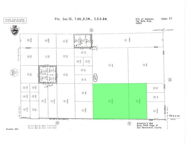 0 Nichols Avenue Adelanto, CA 92301 - MLS #: EV18056137