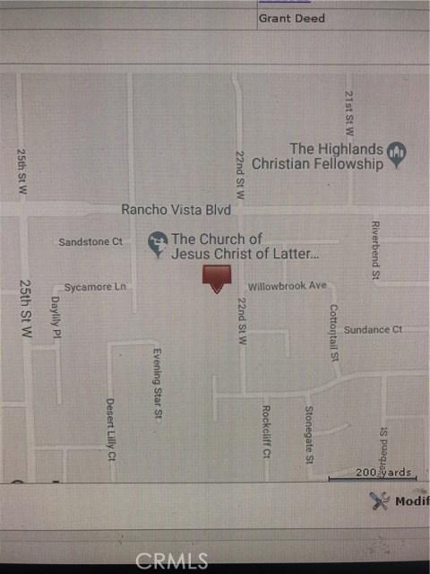 Rancho Vista Blvd