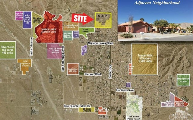 Land for Sale at West Drive West Drive Desert Hot Springs, California 92240 United States