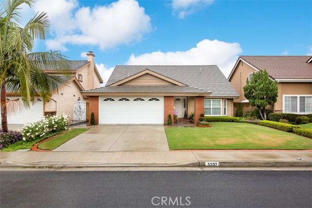 Single Family Home for Sale at 5337 Andrew Drive La Palma, California 90623 United States