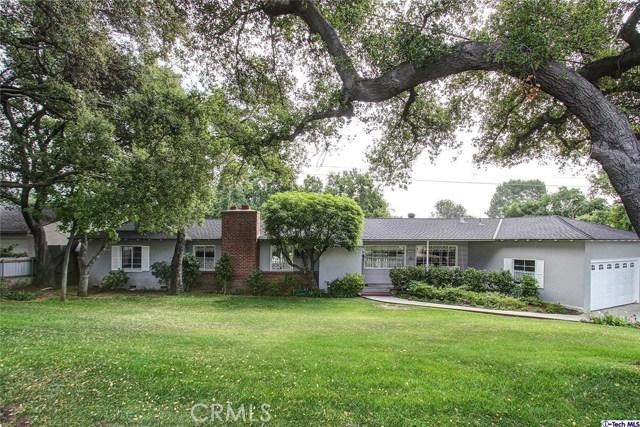Single Family Home for Sale at 1501 Descanso Drive La Canada Flintridge, California 91011 United States
