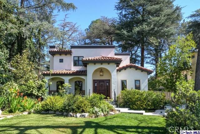Single Family Home for Sale at 4936 Palm Drive La Canada Flintridge, California 91011 United States