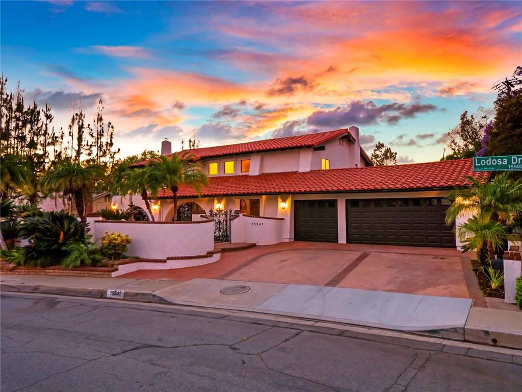 15541 Lodosa Drive Whittier, CA 90605 - MLS #: WS18189860