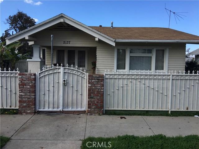 Single Family for Sale at 2137 Locust Avenue Long Beach, California 90806 United States