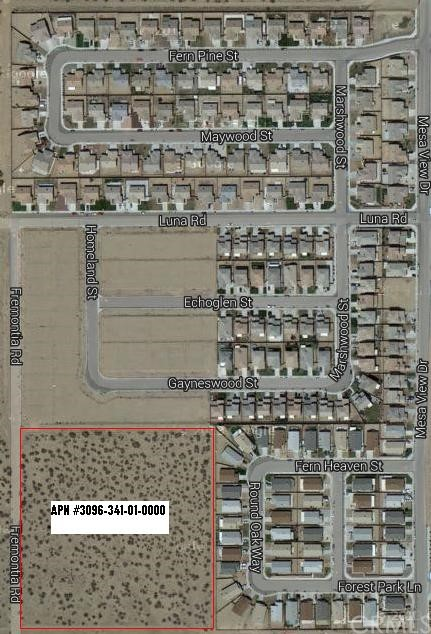 Land for Sale at 0 Fremontia Road 0 Fremontia Road Victorville, California 92392 United States