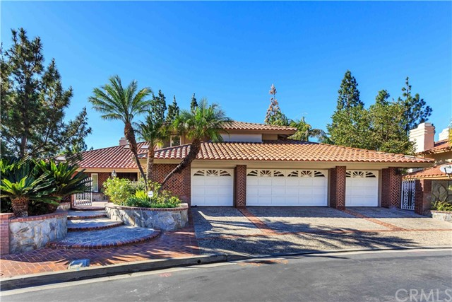 One of Gated Anaheim Hills Homes for Sale at 1025 S Via De Rosa