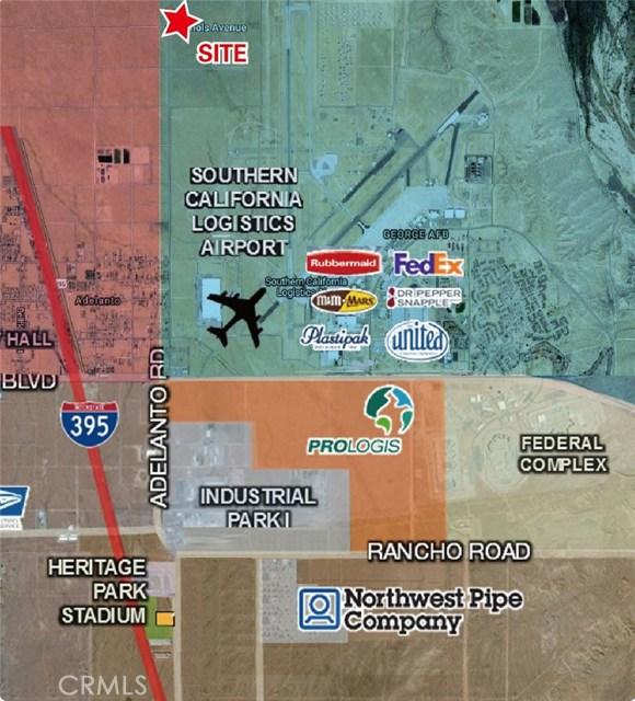 土地 为 销售 在 92301 Nichols Road&Adelanto Road Adelanto, 加利福尼亚州 美国