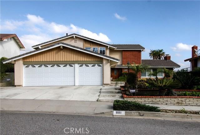 Single Family Home for Rent at 881 Kirkwood Lane La Habra, California 90631 United States