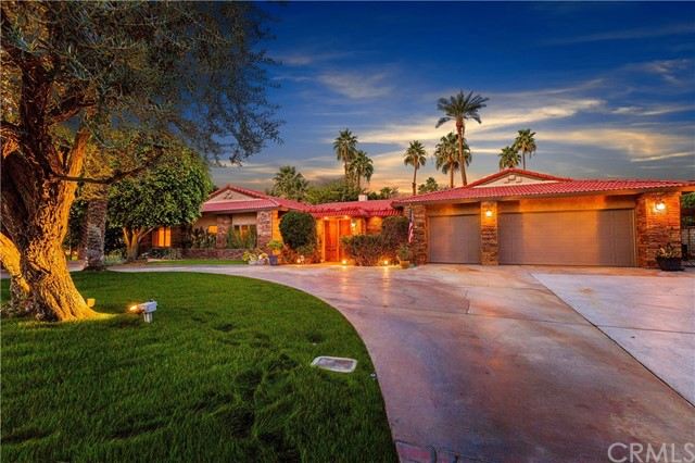 Single Family Home for Sale at 72128 Palm Crest Drive 72128 Palm Crest Drive Rancho Mirage, California 92270 United States