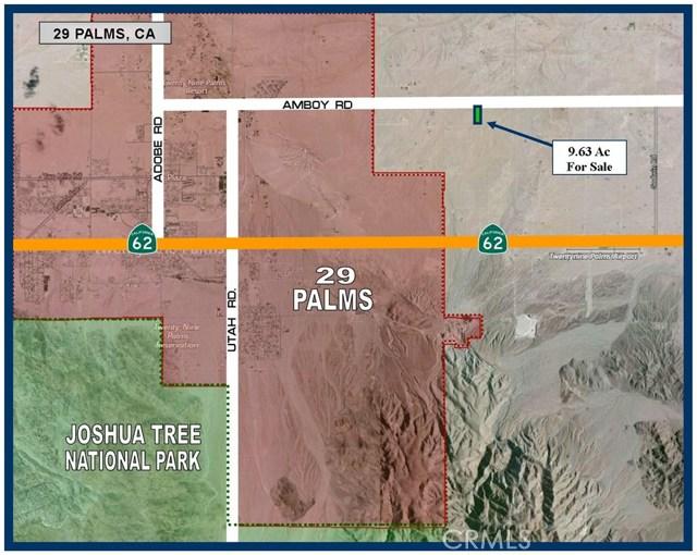 0 Amboy Road, 29 Palms, CA, 92277