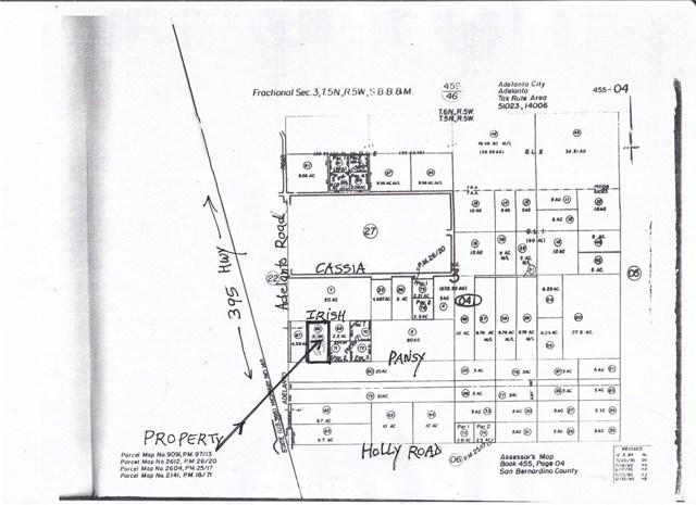 0 Adelanto Road Adelanto, CA 92301 - MLS #: IV18092576