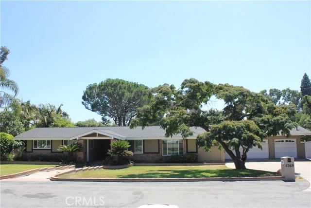 5369 Grandview Avenue, Yorba Linda, California