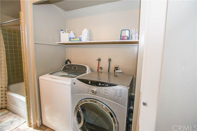 Laundry Hook-Ups in full bath - convenient to bedrooms