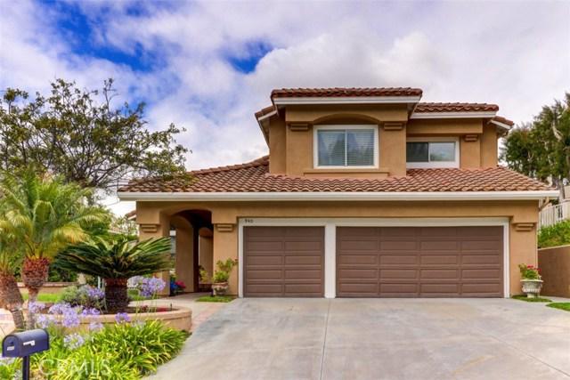 940 S Camerford Lane, Anaheim Hills, California