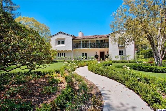 Single Family Home for Sale at 1075 Lagunita Road Pasadena, California 91105 United States