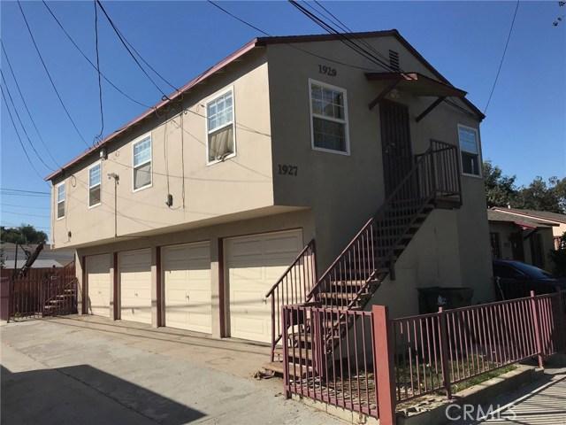 Apartamento por un Venta en 1927 Caspian Avenue Long Beach, California 90810 Estados Unidos