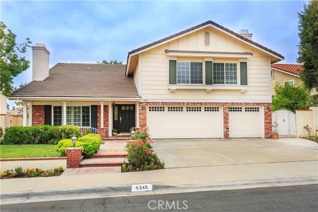 5345 Via Santander, Yorba Linda, California
