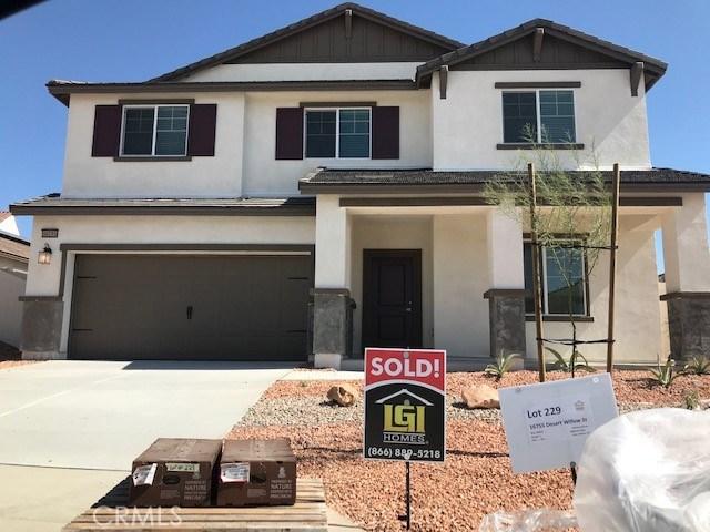 16755 Desert Willow Street Victorville CA 92394