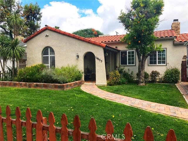 14653 W Albers Street W, Sherman Oaks, CA 91411