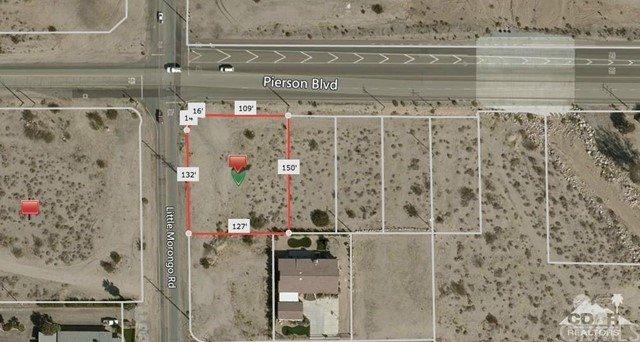 Photo of home for sale at 2 Lots Pierson and Little Morong, Desert Hot Springs CA