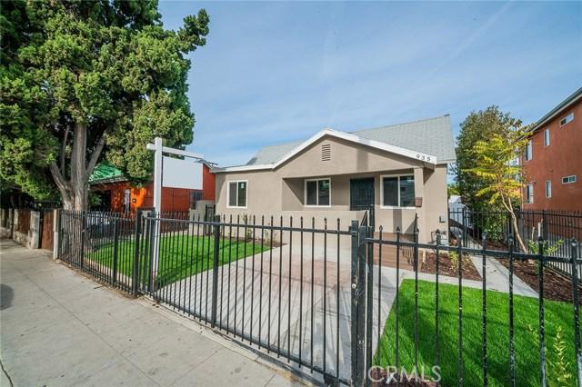 935 53rd Street Los Angeles CA 90011