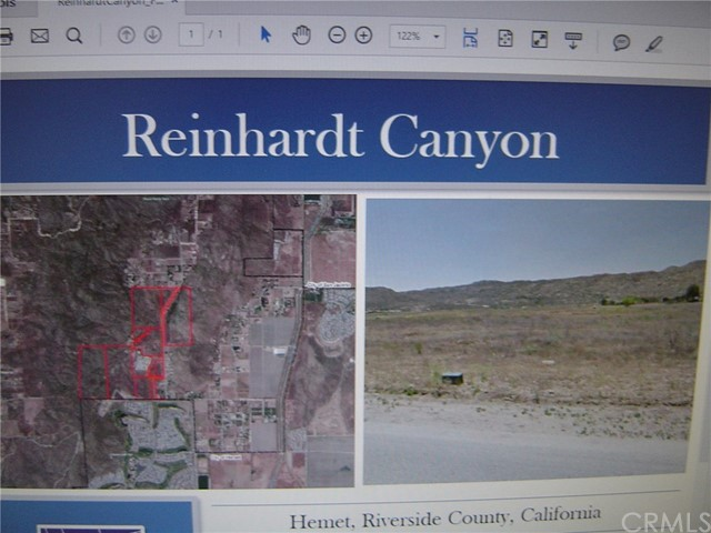 Land for Sale at 0 0 Hemet, California United States
