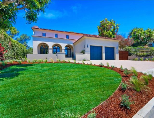 1606 Espinosa Circle  Palos Verdes Estates CA 90274
