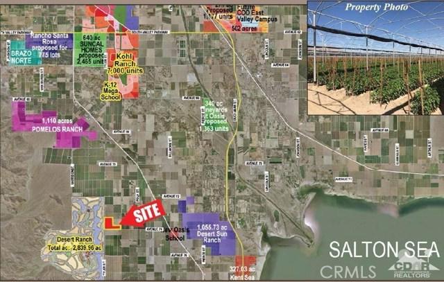 Avenue 74 Thermal, CA 92274 - MLS #: 217027548DA