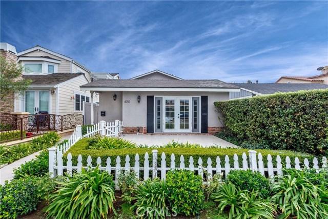 420 Narcissus Avenue Corona del Mar, CA 92625