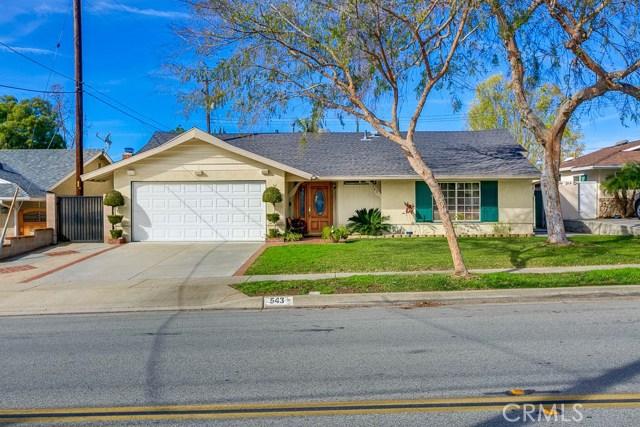 543 N Walnut Avenue, San Dimas, CA 91773