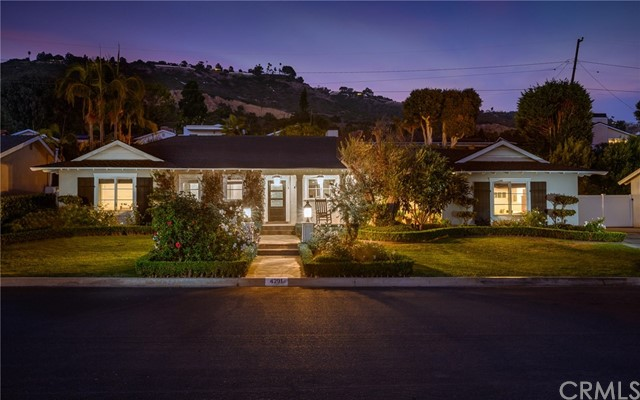 4291 Admirable Drive, Rancho Palos Verdes, California 90275, 4 Bedrooms Bedrooms, ,1 BathroomBathrooms,Single family residence,For Sale,Admirable,PV19240642