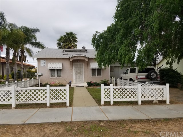 Combo - Residential and Commer for Sale at 714 Beaumont Avenue Beaumont, California 92223 United States