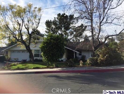 Single Family Home for Sale at 4639 Melanie Lane Glendale, California 91214 United States