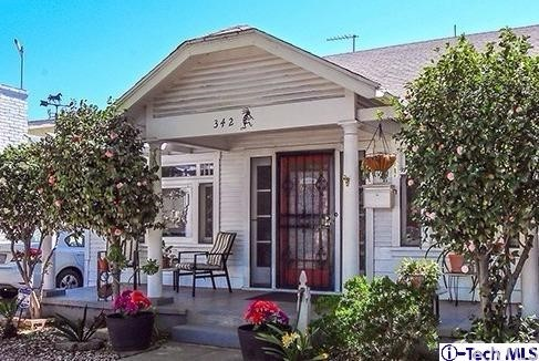 Single Family Home for Sale at 342 Garfield Avenue W Glendale, California 91204 United States