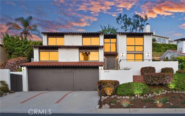 1016 Via Romero Palos Verdes Estates, CA 90274 is listed for sale as MLS Listing PV18070219